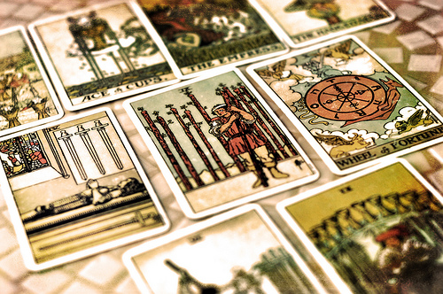 Modern Mystery School tarot cards